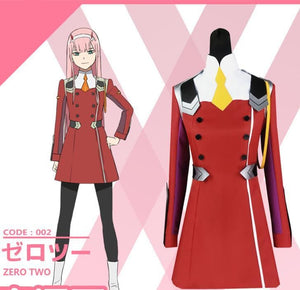 DARLING in the FRANXX Zero Two Cosplay Costume SP1812224