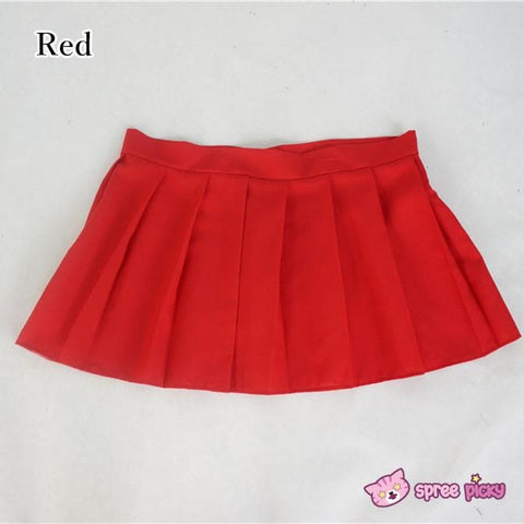 [10 Colors] Custom Made J-fashion Sailor Seifuku Uniform Pleated Skirt Only SP151672 - SpreePicky  - 4