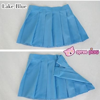 [10 Colors] Custom Made J-fashion Sailor Seifuku Uniform Pleated Skirt Only SP151672 - SpreePicky  - 6