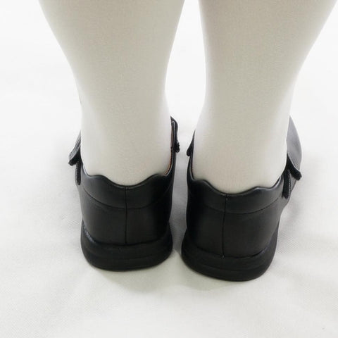 Cosplay/ Lolita Round Toe Matt Black PU Leather School Uniform Shoes SP141358 - SpreePicky  - 5
