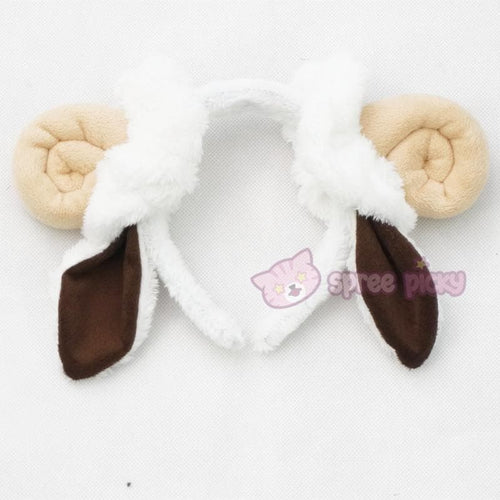 Cutie Sheep Horns Headband SP153045 - SpreePicky  - 1