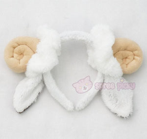 Cutie Sheep Horns Headband SP153045 - SpreePicky  - 4