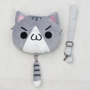 3 colors Kawaii [Neko Atusme] Cat Plush Bag SP153523 - SpreePicky  - 3