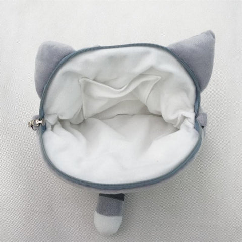 3 colors Kawaii [Neko Atusme] Cat Plush Bag SP153523 - SpreePicky  - 7