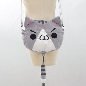 3 colors Kawaii [Neko Atusme] Cat Plush Bag SP153523 - SpreePicky  - 6
