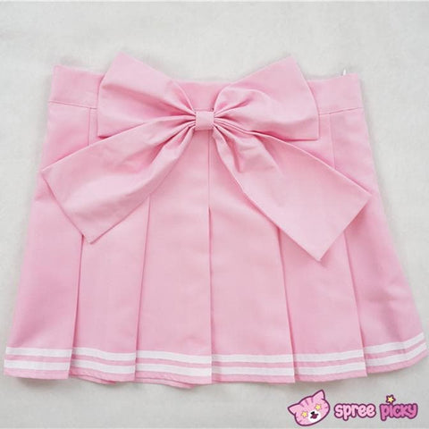 Daily Cosplay [Sailor Moon]Sailor Chibi Moon Chibi Usa Pink Seifuku Unfirom Top/Skirt/Bow - SpreePicky  - 7