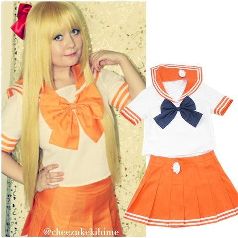 6 colors Daily Cosplay [Sailor Moon Series] Sailor Seifuku Uniform Set - SpreePicky  - 8