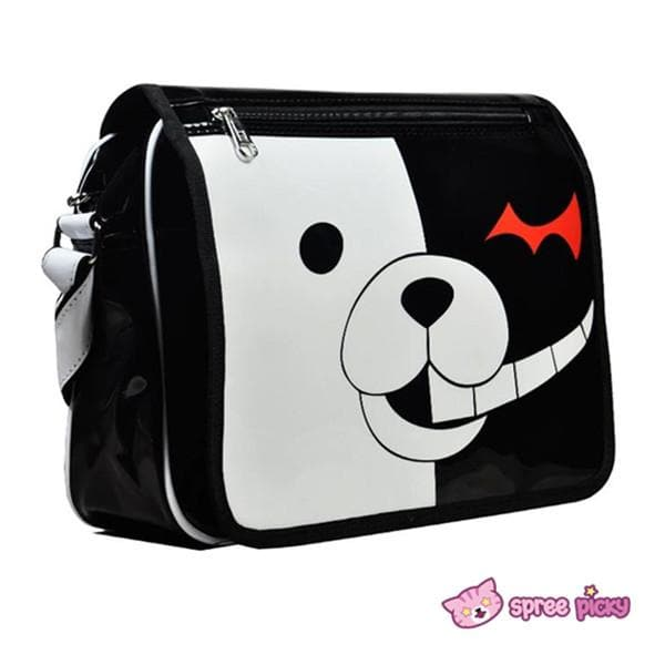 Dangan Ronpa Principal Monokuma Black/White Bear Bag Shoulder Bag SP151692 - SpreePicky  - 1