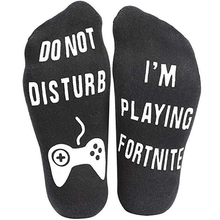 Load image into Gallery viewer, Do Not Disturb I'm Gaming Socks SP13494