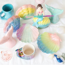 Load image into Gallery viewer, Dreamy Mermaid Tail Mug SP13662