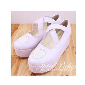 J-Fashion Harajuku Lolita Comfortable Low-cut Platform Shoes SP130167 - SpreePicky  - 2
