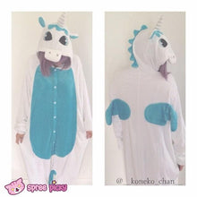 Load image into Gallery viewer, Final Stock! Unisex/Couple Unicorn Pajamas Homewear Hoodie SP141620