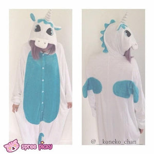 Final Stock! Unisex/Couple Unicorn Pajamas Homewear Hoodie SP141620