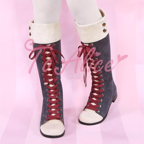 Elegant Laced Lolita High Boots SP1710728