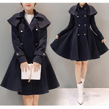 Load image into Gallery viewer, Elegant Midi Woolen Coat Jacket SP1710803