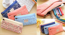 Load image into Gallery viewer, 4 Colors Mori Girl Stationery Bag Storage Bag SP153123 - SpreePicky  - 2