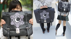 Gothic Retro Dark Magic 3 ways Backpack SP153641 - SpreePicky  - 2