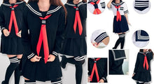 Load image into Gallery viewer, S-XL 3 colors Sailor Seifuku School Uniform Set SP153570 - SpreePicky  - 2
