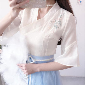 Fairy Flower Chinese Style Shirt/Dress SP13644