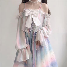Load image into Gallery viewer, Fairy Rainbow Laced Suspender Dress SP13990