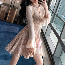 Load image into Gallery viewer, Fairy Tassel Chiffon Sleeve Dress SP13459