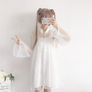 Fairy Transparent Tulle Dress SP1812632