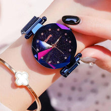 Load image into Gallery viewer, Galaxy Starry Night Magnetic Watch