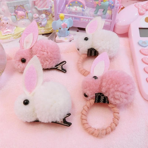 Fluffy Bunny Hair Accessories SP13389