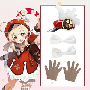 Game Anime Genshin Impact Mondstadt Klee Cosplay Costume SS0656