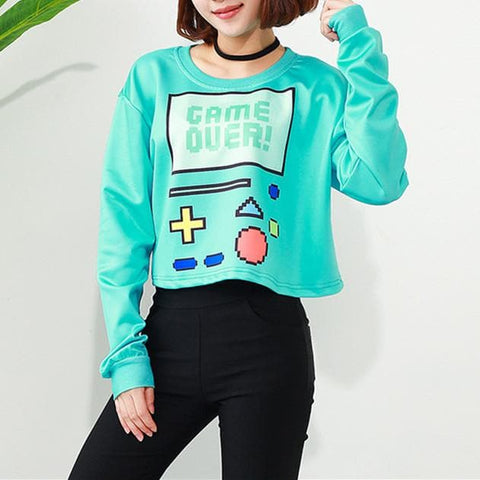 Games Over Short Pullover Shirt S12987