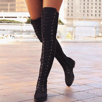 Gladiator Over-the-knee Boots S13063