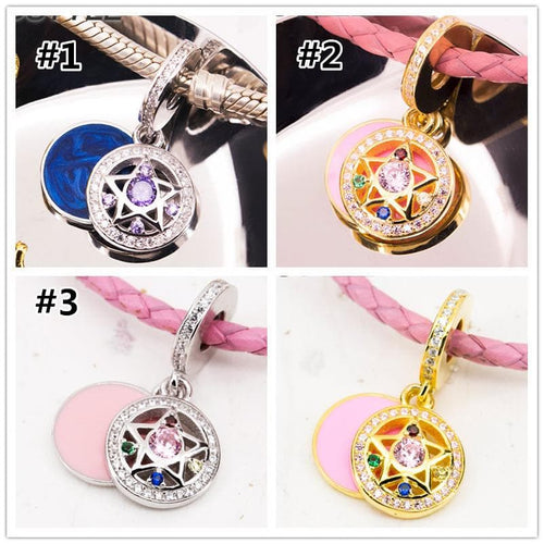 Golden/Silvery S925 Sailor Moon Star Pendant SP1711333