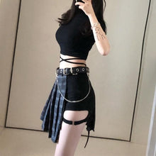 Load image into Gallery viewer, Gothic Retro Pleated Skirt/Shorts/Waistband/Top S12750
