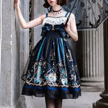 Load image into Gallery viewer, Gothic Vintage Cross God Lace OP/JSK Dress SP14305