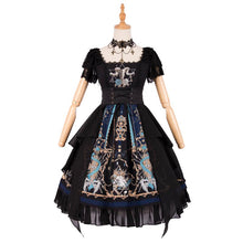 Load image into Gallery viewer, Gothic Vintage Cross God Lace OP/JSK Dress SP14305 - SpreePicky FreeShipping
