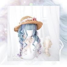 Load image into Gallery viewer, Gradient Harajuku Lolita Long Curl Wig SP13206