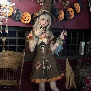 Anime Witch Elf Robin Cosplay Pirate Costume SS0605