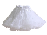 HIGH QUALITY Lolita Cosplay  Fluffy TUTU Dream Rainbow A shape Pettiskirt SP130218 - SpreePicky  - 18