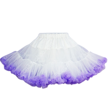 Load image into Gallery viewer, HIGH QUALITY Lolita Cosplay  Fluffy TUTU Dream Rainbow A shape Pettiskirt SP130218 - SpreePicky  - 17