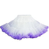 HIGH QUALITY Lolita Cosplay  Fluffy TUTU Dream Rainbow A shape Pettiskirt SP130218 - SpreePicky  - 17
