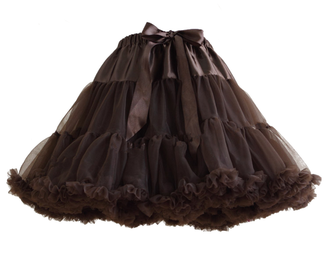 HIGH QUALITY Lolita Cosplay  Fluffy TUTU Dream Rainbow A shape Pettiskirt SP130218 - SpreePicky  - 6