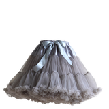 HIGH QUALITY Lolita Cosplay  Fluffy TUTU Dream Rainbow A shape Pettiskirt SP130218 - SpreePicky  - 7