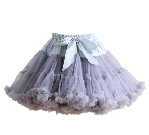 HIGH QUALITY Lolita Cosplay  Fluffy TUTU Dream Rainbow A shape Pettiskirt SP130218 - SpreePicky  - 8