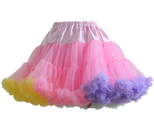 Load image into Gallery viewer, HIGH QUALITY Lolita Cosplay  Fluffy TUTU Dream Rainbow A shape Pettiskirt SP130218 - SpreePicky  - 9