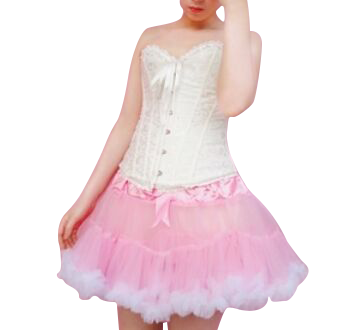 HIGH QUALITY Lolita Cosplay  Fluffy TUTU Dream Rainbow A shape Pettiskirt SP130218 - SpreePicky  - 10