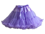 HIGH QUALITY Lolita Cosplay  Fluffy TUTU Dream Rainbow A shape Pettiskirt SP130218 - SpreePicky  - 14