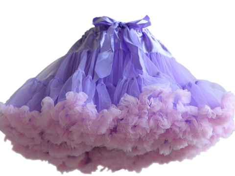HIGH QUALITY Lolita Cosplay  Fluffy TUTU Dream Rainbow A shape Pettiskirt SP130218 - SpreePicky  - 12