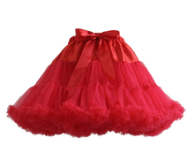 Load image into Gallery viewer, HIGH QUALITY Lolita Cosplay  Fluffy TUTU Dream Rainbow A shape Pettiskirt SP130218 - SpreePicky  - 15