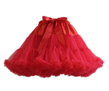 HIGH QUALITY Lolita Cosplay  Fluffy TUTU Dream Rainbow A shape Pettiskirt SP130218 - SpreePicky  - 15