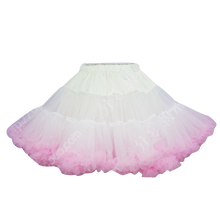 Load image into Gallery viewer, HIGH QUALITY Lolita Cosplay  Fluffy TUTU Dream Rainbow A shape Pettiskirt SP130218 - SpreePicky  - 16